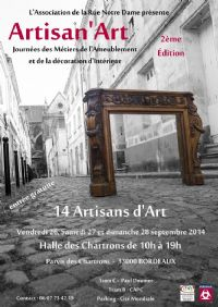 Salon artisan 39 art 14 artisans d 39 art la halle des for Salon studyrama bordeaux