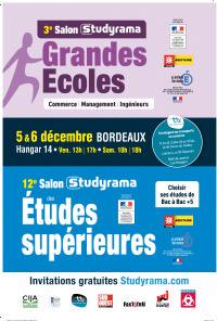 Studyrama organise bordeaux le 12eme salon des etudes for Salon studyrama bordeaux